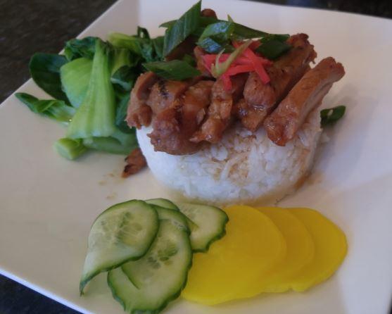 Grilled Chicken Teriyaki Rice Bowl